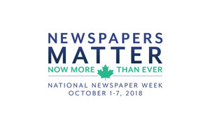 {National Newspaper Week Is Oct. 1-7}
