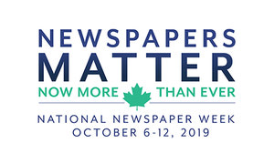 National Newspaper Week Is Oct. 6-12