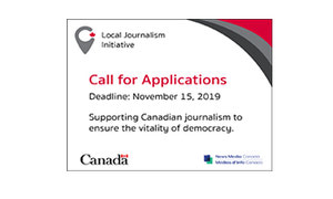 Local Journalism Initiative - Second Round Of Applications Due